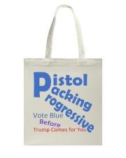 Gun Loving Democrats: Vote Blue Keep It True Tote Bag thumbnail