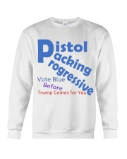 Gun Loving Democrats: Vote Blue Keep It True Crewneck Sweatshirt tile