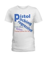 Gun Loving Democrats: Vote Blue Keep It True Ladies T-Shirt thumbnail
