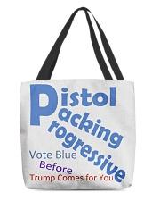 Gun Loving Democrats: Vote Blue Keep It True All-over Tote thumbnail