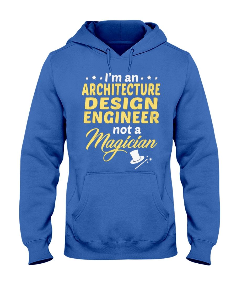 Architecture Design Engineer 1 Hooded Sweatshirt