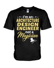 Architecture Design Engineer 1 V-Neck T-Shirt thumbnail