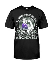 Archivist Become Classic T-Shirt thumbnail