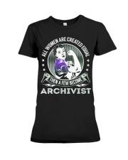 Archivist Become Premium Fit Ladies Tee thumbnail