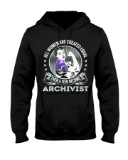 Archivist Become Hooded Sweatshirt thumbnail