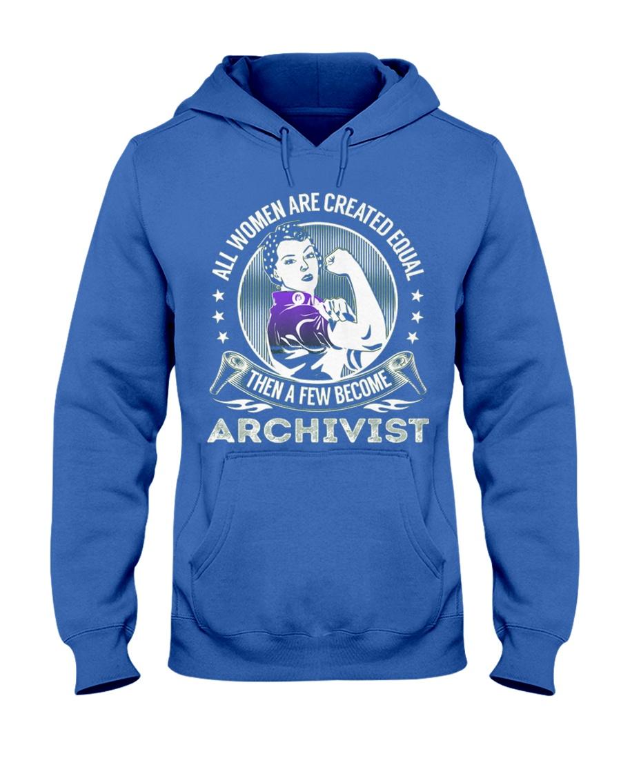 Archivist Become Hooded Sweatshirt