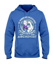 Archivist Become Hooded Sweatshirt front