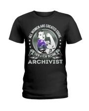 Archivist Become Ladies T-Shirt thumbnail