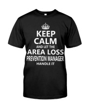Area Loss Prevention Manager Keep Calm Premium Fit Mens Tee thumbnail