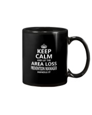 Area Loss Prevention Manager Keep Calm Mug thumbnail