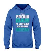 Aquatics Specialist Proud Dad Hooded Sweatshirt front