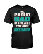 Architectural Intern Proud Dad Premium Fit Mens Tee thumbnail