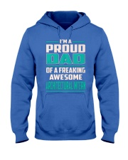 Architectural Intern Proud Dad Hooded Sweatshirt front