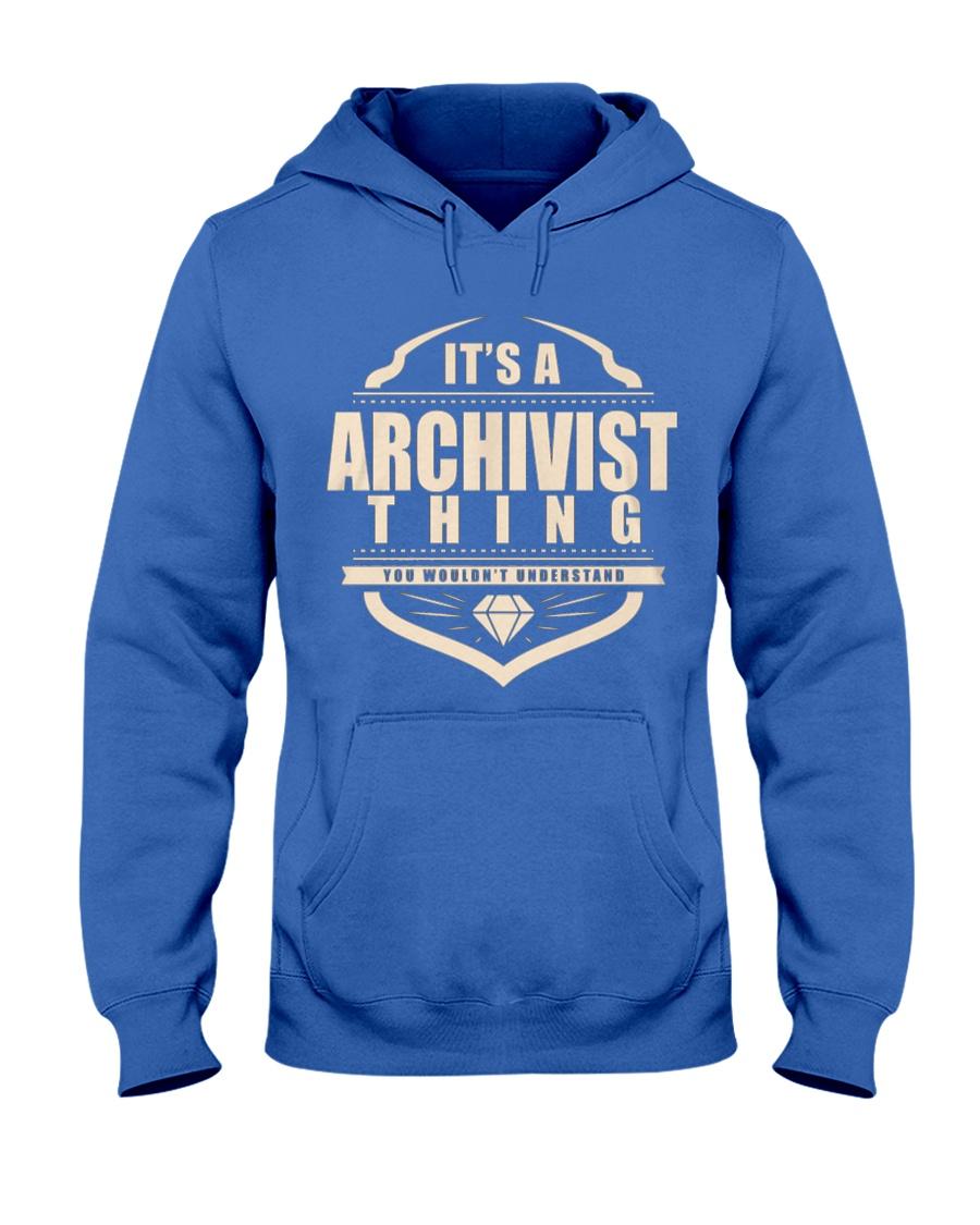 Archivist Only Archivist Would Understand Hooded Sweatshirt