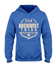 Archivist Only Archivist Would Understand Hooded Sweatshirt front