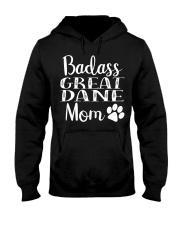 BadAss Great Dane mom Funny Dog Hood Hooded Sweatshirt thumbnail