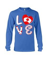 Medical Nurse Valentine Day Shirt  Long Sleeve Tee front