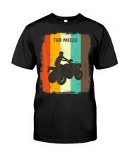 Four Wheeling TShirt Retro 70s Vintage Premium Fit Mens Tee thumbnail