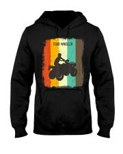 Four Wheeling TShirt Retro 70s Vintage Hooded Sweatshirt thumbnail