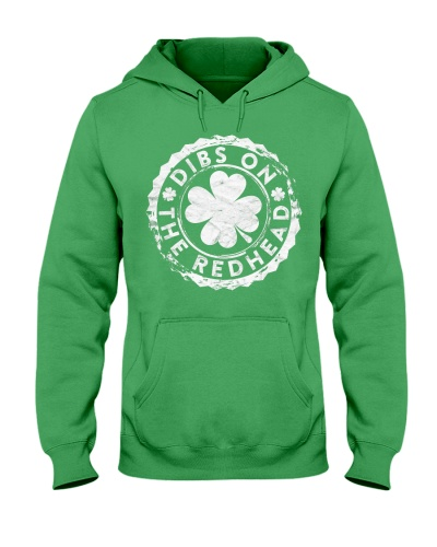 Dibs On The Redhead Stamp Gift St Pat