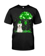 Irish West Highland White Terrier Ba Classic T-Shirt front