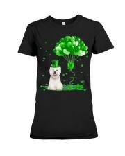 Irish West Highland White Terrier Ba Premium Fit Ladies Tee thumbnail