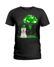 Irish West Highland White Terrier Ba Ladies T-Shirt thumbnail