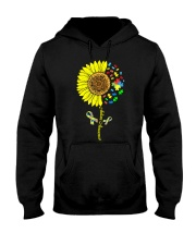 Autism Awareness Sunflower  Hooded Sweatshirt thumbnail