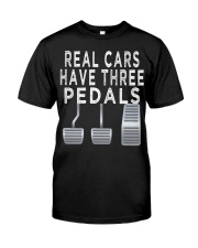 Car guy funny T shirt  Real Cars h Classic T-Shirt front