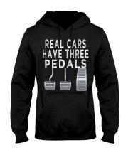 Car guy funny T shirt  Real Cars h Hooded Sweatshirt thumbnail