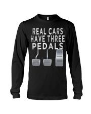 Car guy funny T shirt  Real Cars h Long Sleeve Tee thumbnail