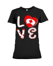 Medical Nurse Valentine Day Shirt Love Premium Fit Ladies Tee thumbnail