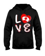 Medical Nurse Valentine Day Shirt Love Hooded Sweatshirt thumbnail