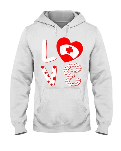 Medical Nurse Valentine Day Shirt Love