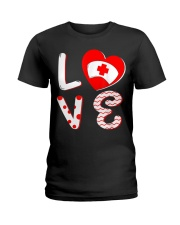 Medical Nurse Valentine Day Shirt Love Ladies T-Shirt thumbnail