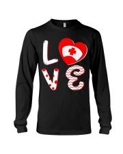 Medical Nurse Valentine Day Shirt Love Long Sleeve Tee thumbnail