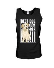 Best Dog Mom Ever Yellow Labrador Unisex Tank thumbnail