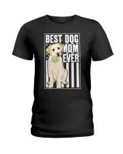 Best Dog Mom Ever Yellow Labrador Ladies T-Shirt thumbnail