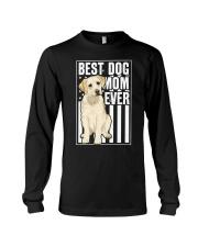 Best Dog Mom Ever Yellow Labrador Long Sleeve Tee thumbnail