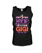 Womens I Love Being A Gigi Grandma Mothers Unisex Tank thumbnail