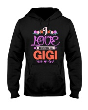 Womens I Love Being A Gigi Grandma Mothers Hooded Sweatshirt thumbnail