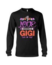 Womens I Love Being A Gigi Grandma Mothers Long Sleeve Tee thumbnail