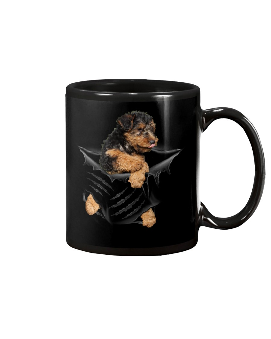 Welsh Terrier Scratch Mug