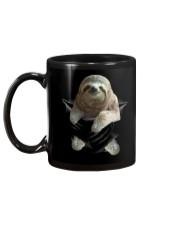 Sloth Scratch Mug back