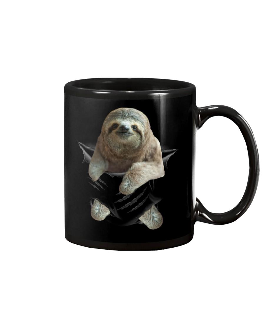 Sloth Scratch Mug