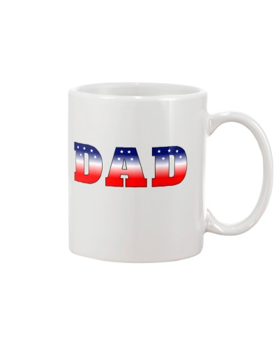 Dad - Red White and Blue