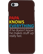 Papa Knows Everything Best Father's Day Gift Phone Case thumbnail