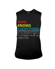 Papa Knows Everything Best Father's Day Gift Sleeveless Tee thumbnail