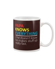 Papa Knows Everything Best Father's Day Gift Mug thumbnail