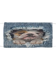 bulldog Cool Cloth face mask front